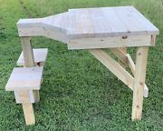 Wooden Shooting Bench Build Plans