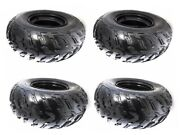 4x 22x10-10 Tire Tyre 22x10x10 Wheel 10 Rim For Atv Quad Go Kart Taotao Buggy