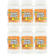 6 Packs 21st Century One Daily Women's 100 Tablets Free Shipping New