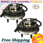 2x Timken Front Wheel Hub And Bearing For 2002-2005 Ford Explorer 4x4 4wd Sp470200