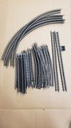 Vintage N Scale Bachmann Track Lot Of 36 Pieces