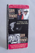 Bob Wills Tribute By Leon Rausch And Tommy Allsup 3 Cd Boxed Set W/book