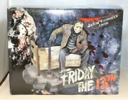Gentle Giant Friday The 13th Jason Voorhees On The Bed 97 Of 350 Rare Signed Jsa