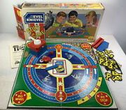 Vintage Evel Knievel Stunt Game 1974 Ideal Toys Box With Instructions Not Worki