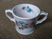 Vintage Taunton Country Crafts Summer Floral Flower Medium Cup / Mug With Box