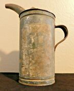 Vintage Maytag Oil And Gas Fuel Mixing Can Tin