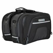 Expandable Motorcycle Panniers Expandable Touring Luggage 19-27l Inc Wp Cover