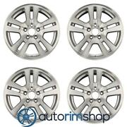 Ford Edge 2007-2012 17 Factory Oem Wheels Rims Set Machined With Silver