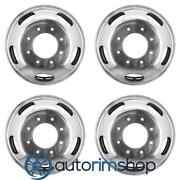Ford F250 F350 F450 2005-2016 17 Factory Oem Staggered Wheels Rims Set