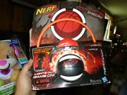 Nerf Fire Vision Sports Nerfoop Firevision Basketball Hoop W/glasses Nib