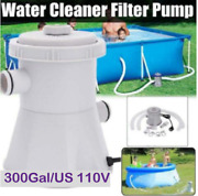 300gal Us Electric Swimming Pool Filter Pump For Above Ground Fast Installation