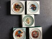 Avon Collector's Christmas Plates, 1975-87, Mint