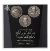 Disney Store Star Wars The Saga Coin Set Series 2 Of 3 Disney Limited Edition