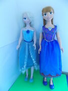 Disney Frozen Elsa And Anna 3and039 Dolls