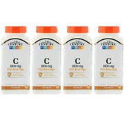 4 Packs 21st Century Vitamin C With Rose Hips 1000 Mg 110 Tablets Free Shipping