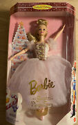 Barbie As The Sugar Plum Fairy In The Nutcracker-never Taken Out Of Box