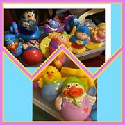 Lot Of 10 Weebles Playskool Hasbro And 5 Accessories Bike And Chairs Knight Hippo
