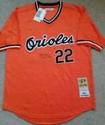 New Baltimore Orioles Jim Palmer Certified Autographed Jersey + Free Shipping