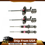 For Toyota Corolla 14-16 Complete Front And Rear Strut Assembly Kit Kyb Excel-g Wn