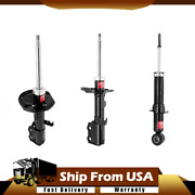 Kyb Excel-g Front Rear Strut Shock Lh Rh Kit Set Of 4 For 03-08 Corolla New Wn