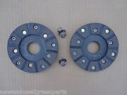 Brake Discs For John Deere 40 420 430 T W I And 1010 Ru S Rc Set Of 2 Springs