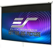 Elite Screens M100h 100 Manual Pull-down B Series Projection Screen 169 Format
