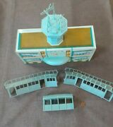 Marx Tin Litho International Jetport Building Control Tower Awning 2 Concourges
