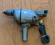 Vintage Van Dorn 1/2 In 3.5 A Type F Utility Electric Power Drill - Working