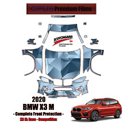 3m Pro Series Precut Paint Protection Kit For Bmw X3 M 2020 Full Front