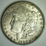 1900 Morgan Silver Dollar 1 Us Coin Philadelphia Minted Toned Almost Unc