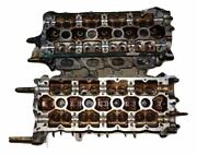 94 Ferrari 348 Cylinder Head Left And Right Set Assembly