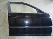 01 Bmw 325i Front Right Passenger Door Sdn And Sw W/ Swivel Handle Black Assy