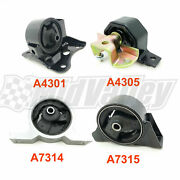 4pcs Engine And Trans Motor Mounts For 2000-2006 Nissan Sentra 1.8l For Automatic