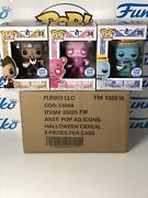 Funko Pop Ad Icons Halloween Cereal Boo Berry Count Chocula Franken Berry Sorter