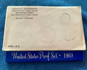 1969 Proof And Uncirculated Annual Us Mint Coin Sets Pds 15 Coins 40 Silver Half