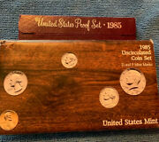 1985 Proof And Uncirculated Annual Us Mint Coin Sets Pds Two Sets 15 Coins