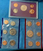 1991 Proof And Uncirculated Annual Us Mint Coin Sets Pds Two Sets 15 Coins