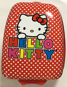 Sanrio Hello Kitty Small Red Carry-on Rolling Hard Luggage Case Bag