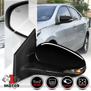 [left] Driver Side Power+heated W/signal Replacement Mirror For 14-19 Corolla/im