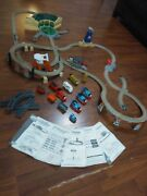 Thomas The Train Engine Trackmaster 4+sets 110+ Pieces 25+ Ft Of Track And Engines