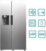 Smad 26.3 Cu Ft French Door Refrigerator Fridge Stainless Steel Auto Ice Making