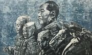 Adam Chang Mao With Army Signed Limited Edition Etching With Aquatint 2012