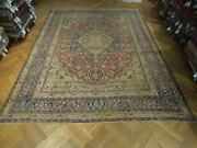 10x14 Authentic Hand Knotted Antique Rug Pix-23963