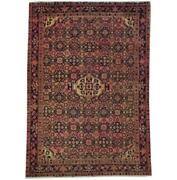 Fascinating 5x7 Hand Knotted Semi-antique Mir Rug B-71142