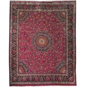 Fascinating 10x12 Authentic Hand Knotted Semi-antique Rug B-71117