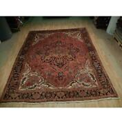 10x12 Authentic Hand Knotted Semi-antique Rug B-73165