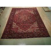 10x12 Authentic Hand Knotted Semi-antique Rug B-73182