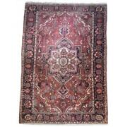 7x10 Authentic Hand-knotted Semi-antique Rug Pix-25760a