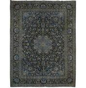 11x14 Authentic Hand-knotted Oriental Signed Rug B-81234