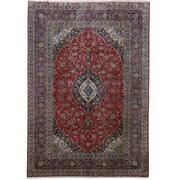 8x12 Authentic Hand-knotted Oriental Signed Rug B-81383